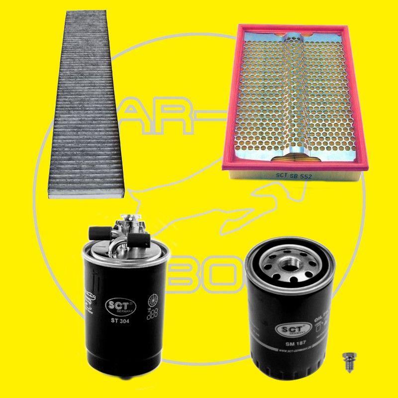 filter set inspektionspaket 1 9tdi 66kw seat alhambra vw. Black Bedroom Furniture Sets. Home Design Ideas