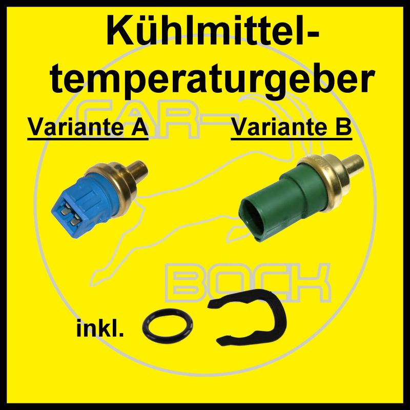 Tempe Volkswagen: Kühlmitteltemperatur Sensor / Doppeltemperaturgeber