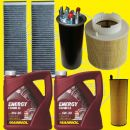 4 Filter Set incl. 10l  Motoroil AUDI A6 Typ 4F 2.7 + 3.0...