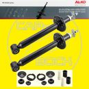 Shock Absorber kit rear + strutmounts + dust cover VW...