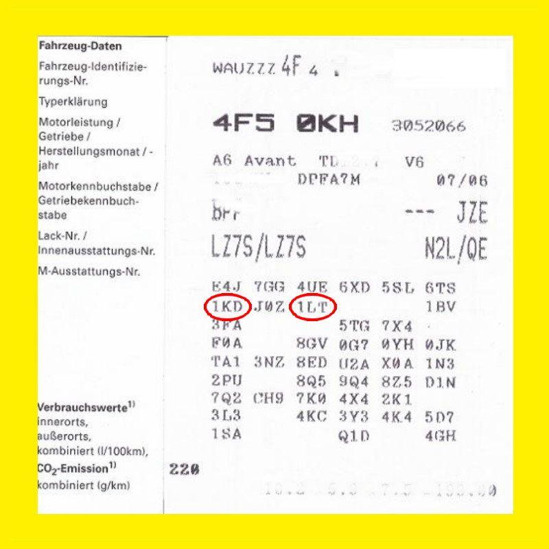 Bremsen Vorn Hinten Audi A6 4f Pr Nr 1lt 1kd Set