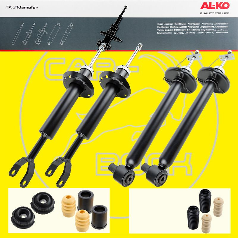 shock absorber with accessories front rear audi a4 8d b5. Black Bedroom Furniture Sets. Home Design Ideas