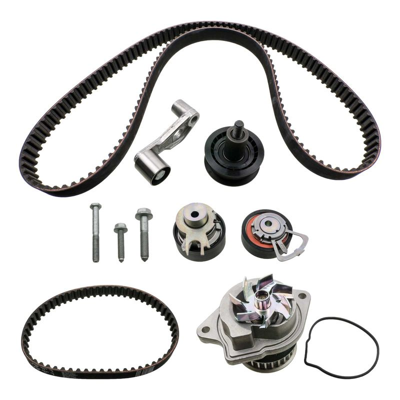 timing belt kit with water pump 1 4 16v 55kw seat leon vw