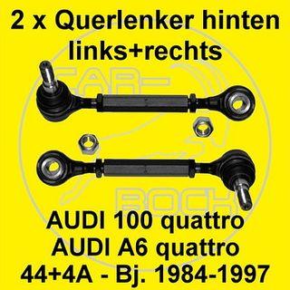 Querlenker Hinterachse 4A,C4 Koppelstangen Set hinten AUDI 100 A6 quattro