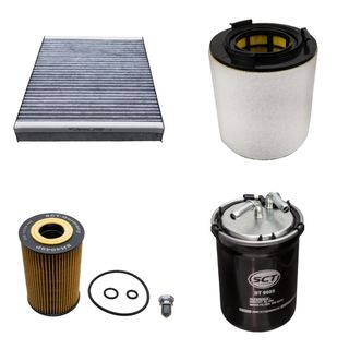 Filter kit 4 pc 1.6 TDI for VW Polo SEAT Ibiza SKODA Fabia AUDI A1