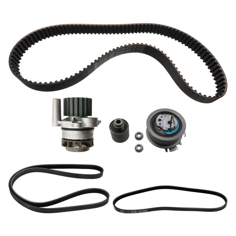 timing belt kit with water pump vw passat 3bg 1 9 tdi. Black Bedroom Furniture Sets. Home Design Ideas
