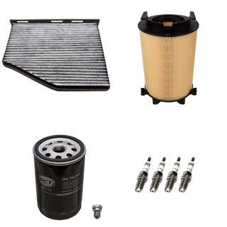 3 filter 4 z ndkerzen vw golf 5 6 plus skoda octavia 1z. Black Bedroom Furniture Sets. Home Design Ideas