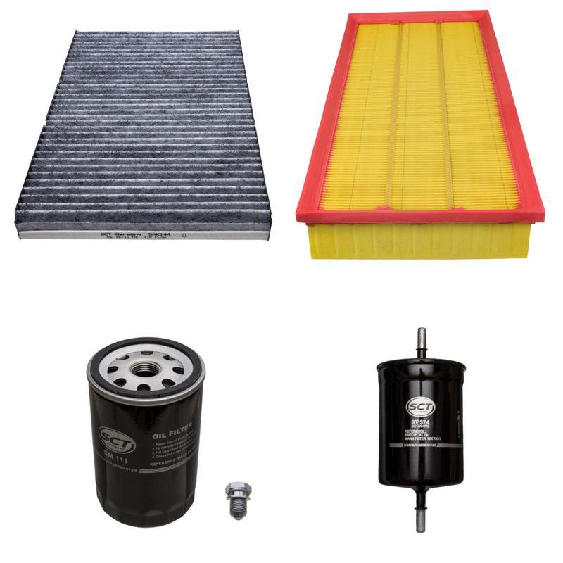 filter set inspektion kit 1 6 1 8 audi a3 vw bora golf4 24. Black Bedroom Furniture Sets. Home Design Ideas