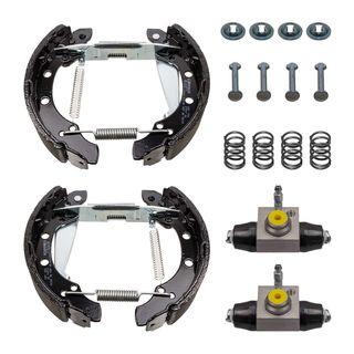 Bremsbacken Set Radbremszylinder 17mm Vormontiert Vw Lupo Fox