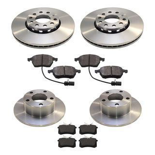 Brake Disc Set front rear VW Passat 3BG 288mm Brake Discs, € 116,00