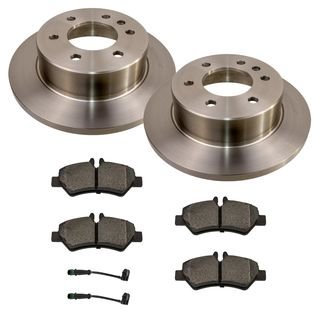 Disc Brake Kit rear VW Crafter MB Sprinter (906) up to 3,5 tons