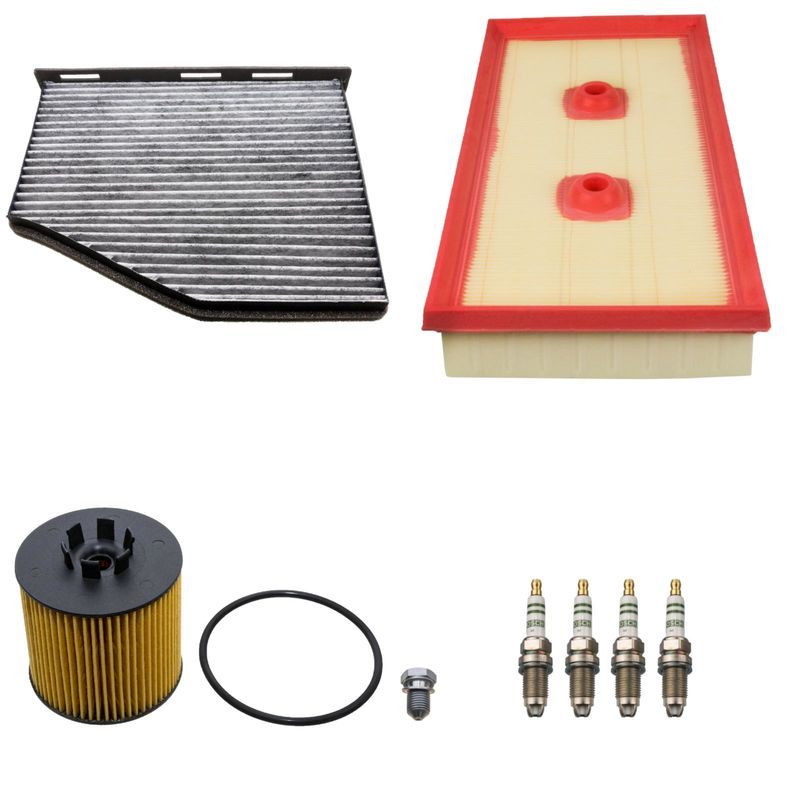 3 filters service kit vw golf 5 6 1 6 85kw fsi 35 00. Black Bedroom Furniture Sets. Home Design Ideas