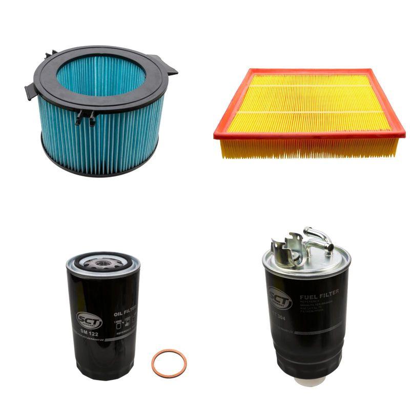 4 filter kit vw t4 transporter 2 5 tdi 25 00. Black Bedroom Furniture Sets. Home Design Ideas