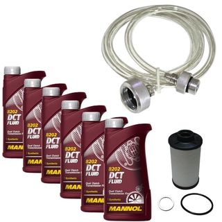 DSG oil change set with hose (eg, Golf, Jetta, Touran, Passat)