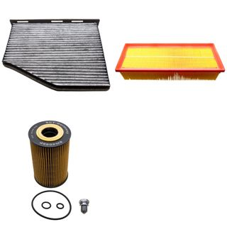Filter-Set (3 Stk) 1.6/2.0 TDI VW Golf VI Golf Plus Touran Passat usw.
